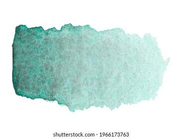 1 beautiful rich green watercolor
