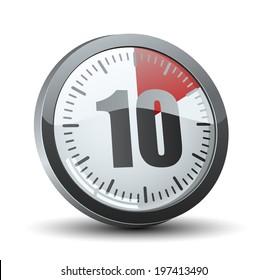 clock 10 min images stock photos vectors shutterstock