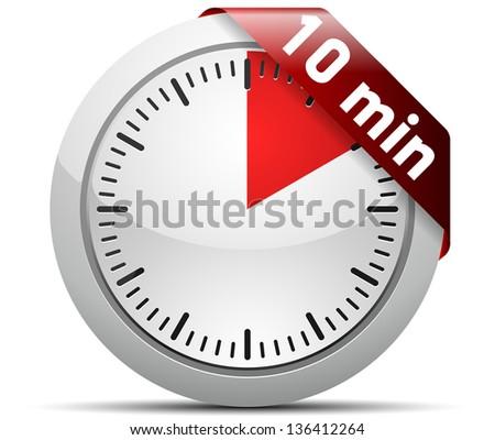 10 Minutes Timer Stock Illustration 136412264 Shutterstock