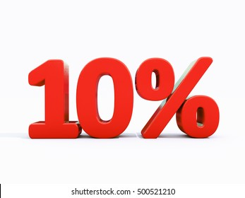 10 Percent Discount 3d Sign on White Background, Special Offer 10% Discount Tag, Sale Up to 10 Percent Off, Sale Symbol, Special Offer Label, Sticker, Tag, Banner, Advertising, Badge, Emblem, Web Icon