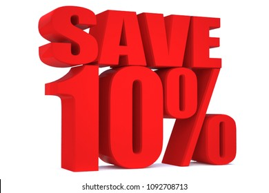 10 Percent off 3d Sign on White Background, Special Offer 10% Discount Tag, Sale Up to 10 Percent Off,big offer, Sale, Special Offer Label, Sticker, Tag, Banner, Advertising, offer Icon, save money