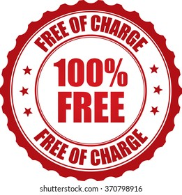 100% free free of charge stamp.