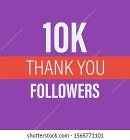 10000 followers . Congratulations 10k follower abstract background