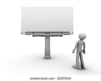 10000px billboard copyspace front view