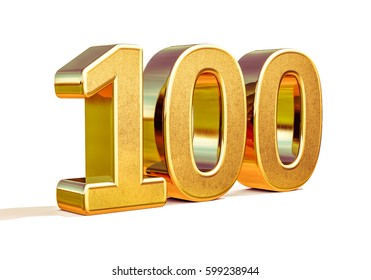 100th Anniversary, 100th birthday, 100 years, Number One Hundred Gold, Numeral 100, Greeting Card, 100th Number, Numeral 100,  100 Years Anniversary Gold Sign, Number Hundred,  Anniversary Banner