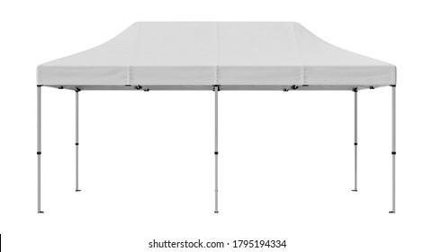 10x20 Tent 3D illustration on white background