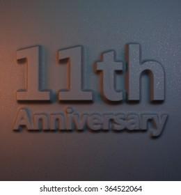 11th anniversary