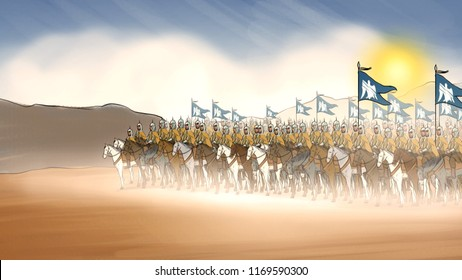 11th century seljuks army and soldiers
