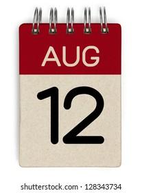 12 august calendar