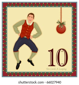 The 12 Days of Christmas - 10-th Day - Ten Lords A Leaping