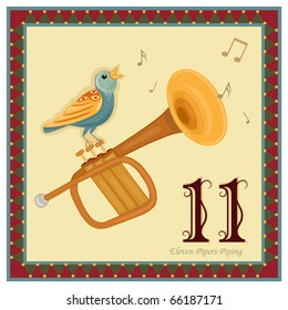 The 12 Days of Christmas - 11-th Day - Eleven Pipers Piping