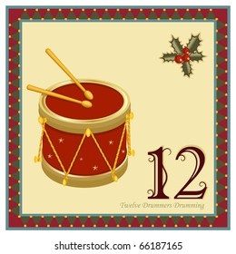 The 12 Days of Christmas - 12-th Day - Twelve Drummers Drumming