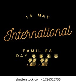 15 May International day of Families