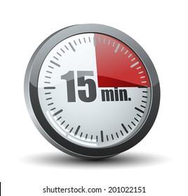 15 Minutes timer