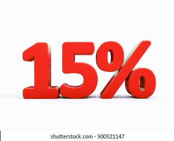 15 Percent Discount 3d Sign on White Background, Special Offer 15% Discount Tag, Sale Up to 15 Percent Off, Sale Symbol, Special Offer Label, Sticker, Tag, Banner, Advertising, Badge, Emblem, Web Icon