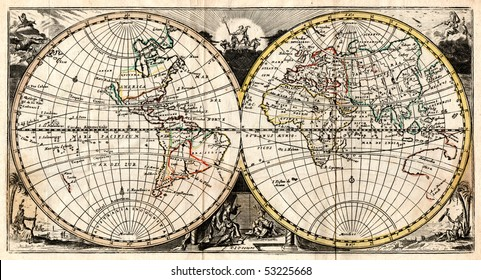 18th Century World Map Images Stock Photos Vectors Shutterstock