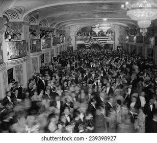 1925 Inaugural Ball celebrating Calvin Coolidge's first term as an elected President.