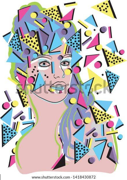 Pop Art Fashion Illustration