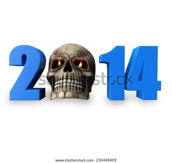 2014 Halloween Skull