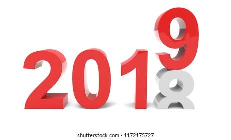 2019 above 2018