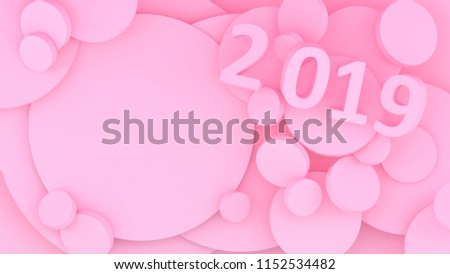 new year wallpaper background abstract shapes year of earth pig jpg 450x273 pig cute minimalist pink