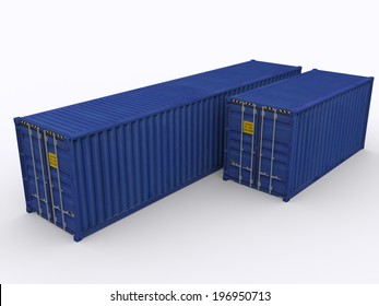 20ft and 40 ft container