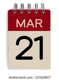21 march calendar