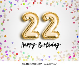 22nd Birthday Images Stock Photos Amp Vectors Shutterstock
