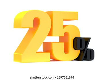 25 Percent off 3d Sign on White Background, Special Offer 25% Discount Tag, Sale Up to 25 Percent Off,big offer, Sale, Special Offer Label, Sticker, Tag, Banner, Advertising, offer Icon