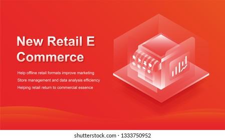 2.5D E Commerce Community Map