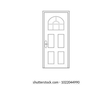 Door Drawing Images Stock Photos Vectors Shutterstock
