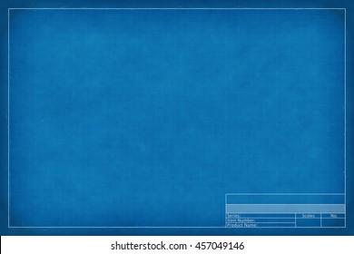 2d illustration of a blank blueprint