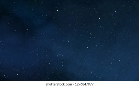 2d illustration. Deep vast space. Bright stars, planets, moons. Various science fiction creative backdrops. Space art. Alien solar systems. Distant space. Realistic background deep cosmos.