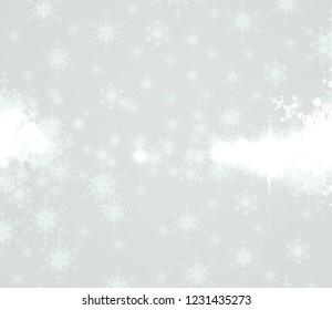2d illustration. Snowflake pattern on colorful background. Holy Christmas event time. Decorative paper card. Christmas Eve. Celebration time decoration texture.