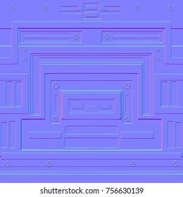 2d tile normal map for gamedev