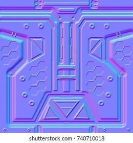 2d tile panel normal map for gamedev