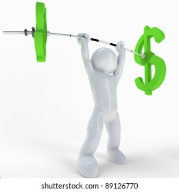 3$ athlete :-)