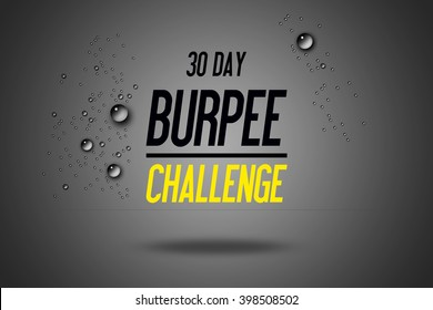 30 Day Burpee Challenge - Impactful Exercise - Whole Body Workout - Sport Workouts - Fitness Center