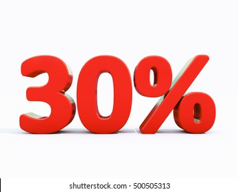 30 Percent Discount 3d Sign on White Background, Special Offer 30% Discount Tag, Sale Up to 30 Percent Off, Sale Symbol, Special Offer Label, Sticker, Tag, Banner, Advertising, Badge, Emblem, Web Icon