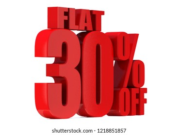 30 Percent off 3d Sign on White Background, Special Offer 30% Discount Tag, Sale Up to 30 Percent Off,big offer, Sale, flat, Special Offer Label, Sticker, Tag, Banner, Advertising, offer Icon