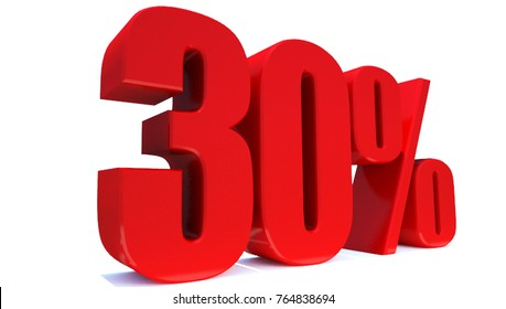 30 Percent off 3d Sign on White Background, Special Offer 30% Discount Tag, Sale Up to 30 Percent Off,big offer, Sale, Special Offer Label, Sticker, Tag, Banner, Advertising, offer Icon
