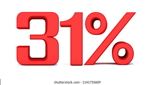 31 Percent off 3d Sign on White Background, Special Offer 31% Discount Tag, Sale Up to 31 Percent Off,big offer, Sale, Special Offer Label, Sticker, Tag, Banner, Advertising, offer Icon