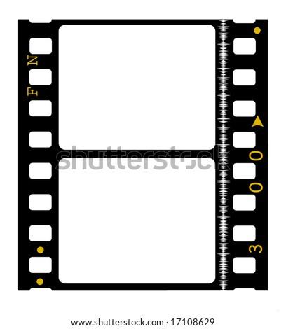 35 Mm Movie Film Reel Stockillustration 17108629 Shutterstock