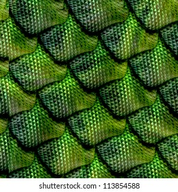 3d abstract Seamless   snake skin, reptile scale