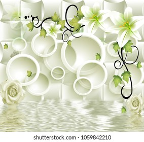 3d abstraction background wallpaper for walls.