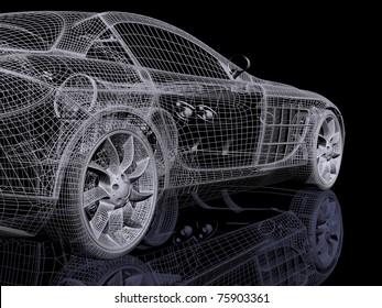 3d automobile