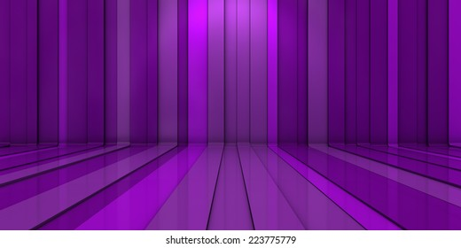 3D background with purple lines