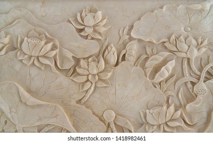 3D Bariliev on a beige wall background