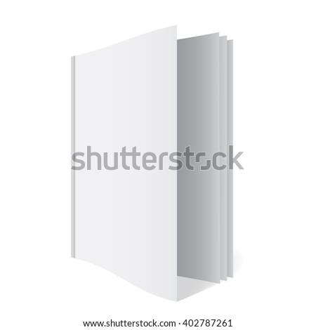 3 D Book Template Stockillustration 402787261 Shutterstock