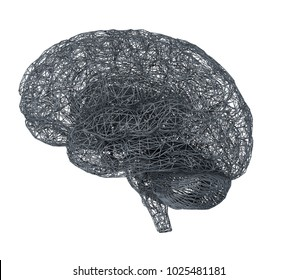 3d brain illustration